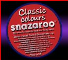 SNAZAROO 50 FACE PAINT 18ML POT BRIGHT RED